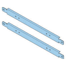 PAIR OF FIXING CROSSPIECE - QDX 1600 H - HORIZONTAL - FOR STRUCTURE 850MM