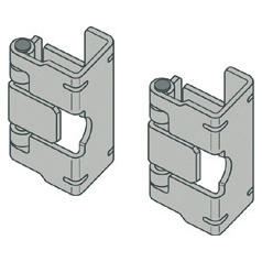 PAIR OF HINGES FOR FRONT PANELS - CVX 630K/M