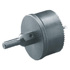 CUP DRILL MILLING CUTTER TO DRILL HOLLOW PLASTERBOARD WALLS - Ø 62