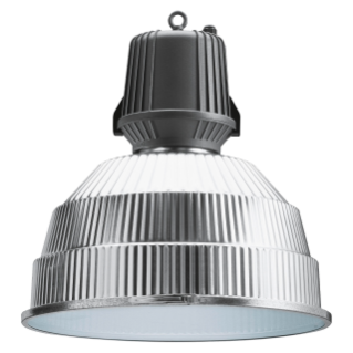 HALLE - WITH LAMP - DIFFUSED OPTIC - WITH GLASS - 400W ME E40 230V- 50HZ - IP65 - CLASS I - GRAPHITE GREY