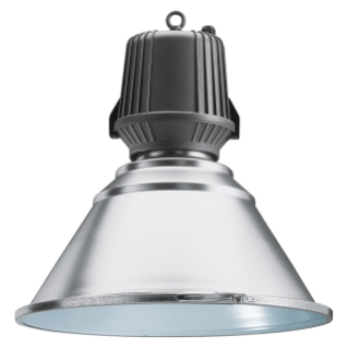 HALLE - WITH LAMP - RESTRICTED BEAM OPTIC - WITH GLASS - 250W ME 1KV E40 230V-50HZ - IP65 - CLASS I - GRAPHITE GREY
