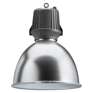 HALLE - WITH LAMP - STANDARD OPTIC - WITH GLASS - 400W ME E40 230V-50HZ - IP65 - CLASS I - GRAPHITE GREY