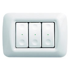 RF push-button panels - wall-mounting - TOP SYSTEM plate