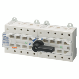 THREE-WAY SWITCH DISCONNECTOR  I O II - MSS 125 - 4P 125A 400V