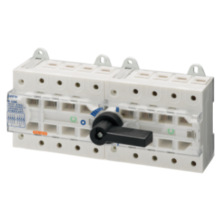 THREE-WAY SWITCH DISCONNECTOR I O II - MSS 125 - 4P 63A 400V