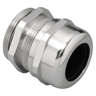 CABLE GLAND - ATEX - IN NICKEL PLATED BRASS - LONG THREAD - PG13,5