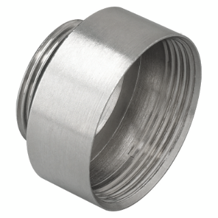 EXTENSION - IN NICKEL-PLATED BRASS - MALE PG16 - FEMALE PG21 - IP65