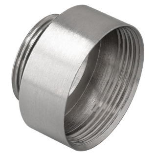EXTENSION - IN NICKEL-PLATED BRASS - MALE M25 - FEMALE M32 - IP65