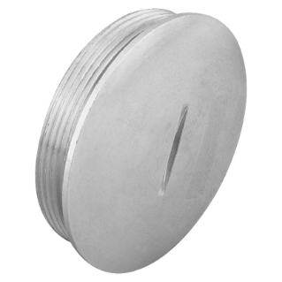 CLOSURE CAP - IN NICKEL PLATED BRASS - M50 - IP65