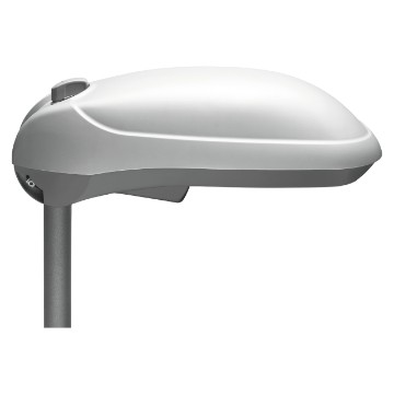 Technopolymer street lighting - Wired versions with P.F. correction - Flat glass - IP65 - Class II
