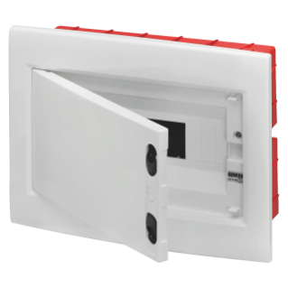 FLUSH-MOUNTING DISTRIBUTION BOARD - WITH BLANK DOOR - 12 MODULES IP40