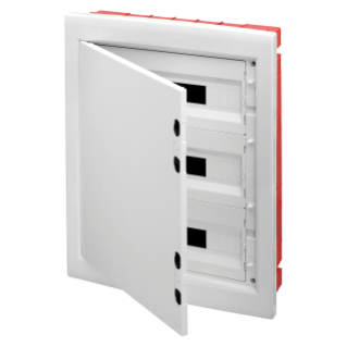 DISTRIBUTION BOARD - PANEL WITH WINDOW AND EXTRACTABLE FRAME - BLANK DOOR - TERMINAL BLOCK N 3X[(3X16)+(17X10)] E 3X[(3X16)+(17X10)] - 54M (18X3) IP40