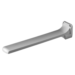 STARTEC - FIXING BRACKET - PARALLEL TO THE WALL - TITANIUM GREY