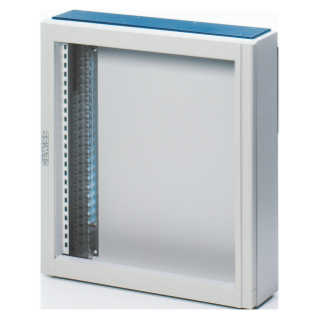 CVX DISTRIBUTION BOARD 160E - SURFACE-MOUNTING - 600x600x140 - IP30 - WITHOUT DOOR - WITH EXTRACTABLE FRAME - GREY RAL7035