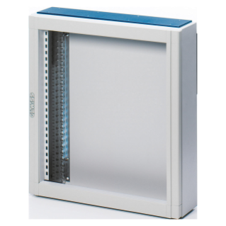 CVX DISTRIBUTION BOARD 160E - SURFACE-MOUNTING - 600x1200x140 - IP30 - WITHOUT DOOR - WITH EXTRACTABLE FRAME - GREY RAL7035