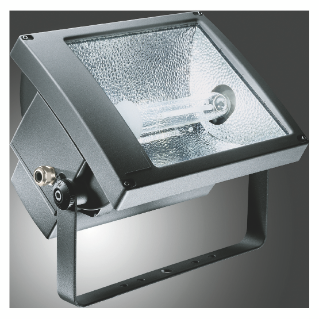 TITANO - WITH LAMP - SYMMETRICAL DIFFUSED OPTIC - ATEX - 250 W MT 1 kV E40 230 V-50 Hz - IP66 - CLASS I - GRAPHITE GREY