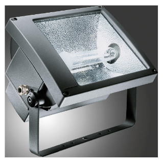 TITANO - WITH LAMP - SYMMETRICAL DIFFUSED OPTIC - ATEX - 400 W ST E40 230 V-50 Hz - IP66 - CLASS I - GRAPHITE GREY