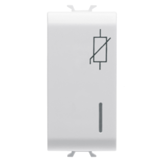 SURGE PROTECTION DEVICE - 275V ac 50/60Hz - 1 MODULE - WHITE - CHORUS