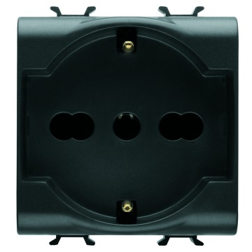 Italian/German Standard socket-outlets - 250V ac