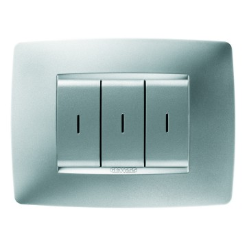 RF push-button panels - wall-mounting - ONE plate