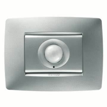RF IR movement detectors with twilight sensor - wall-mounting - ONE plate
