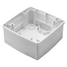 CAJA DE SUPERFICIE  APTAS PLACAS ONE - STANDARD INTERNATIONAL 2+2 MÓDULOS - VERTICAL - BLANCO - CHORUS