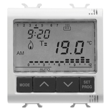 Thermostat programmable - programmation journalière / hebdomadaire