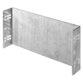 BLANK PLATE IN STEEL - 1 MODULE HIGH - 18 MODULES