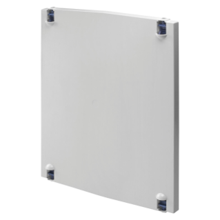 HINGED ENCLOSURE DOOR IN POLYESTER - FOR BOARDS 585X800 - GREY RAL 7035