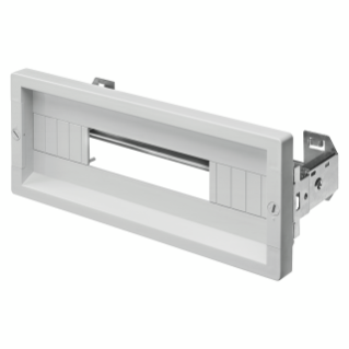 COVERING PANEL WITH WINDOW - FAST AND EASY - 1 MODULE HIGH - 28 MODULES - GREY RAL 7035