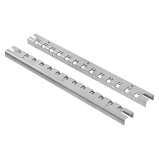 PAIR OF UPRIGHT FOR INSTALLATION - FAST AND EASY - FOR DISTRIBUTION BOARDS 405X650/515X650