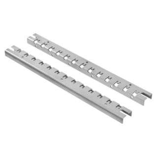 PAIR OF UPRIGHT FOR INSTALLATION - FAST AND EASY - FOR DISTRIBUTION BOARDS 585X800