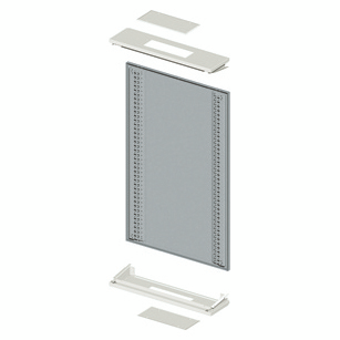 MODULAR SIDE-BY-SYDE WALL-MOUNTING STRUCTURE - CVX 630K - 850X1000X230 - GREY RAL7035