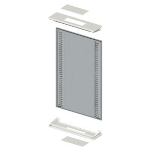 MODULAR SIDE-BY-SYDE WALL-MOUNTING STRUCTURE - CVX 630K - 600X1200X230 - GREY RAL7035