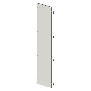 BLANK DOOR IN SHEET METAL - CVX 630M - EXTERNAL - 400X2000 - GREY RAL7035