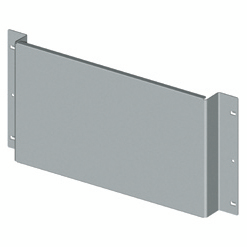 BACK-MOUNTING PLATE FOR NON-MODULAR DEVICES - CVX 630K/M - 36 MODULES - 850X600
