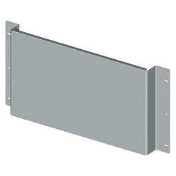 BACK-MOUNTING PLATE FOR NON-MODULAR DEVICES - CVX 630K/M - 36 MODULES - 850X200