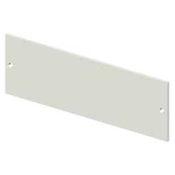 BLANK FRONT PANEL - CVX 630K/M - 10 MODULES - 400X300 - GREY RAL7035