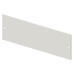 BLANK FRONT PANEL - CVX 630K/M - 10 MODULES - 400X150 - GREY RAL7035