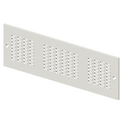 AERATION FRONT PANEL - CVX 630K/M - 36 MODULES 850X200 - GRIGIO RAL7035