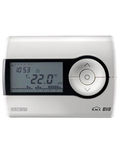 TIMED THERMOSTAT KNX - WALL-MOUNTING - WHITE - CHORUS