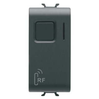 RF ACTUATOR FOR GENERAL LOADS - 1 CHANNEL 3A - RANGE IN FREE FIELD 100m - BLACK - CHORUS
