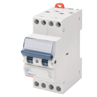 COMPACT MINIATURE CIRCUIT BREAKER - MTC 45 - 3P CHARACTERISTIC C 10A - 2MODULES