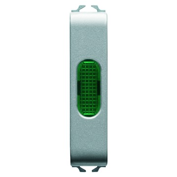 Single indicator lamps - 1/2 module