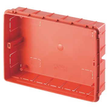 Flush-mounting boxes