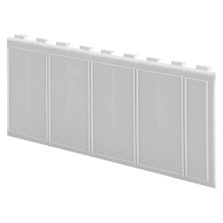 PLASTIC MODULES COVER FOR ENCLOSURES - GREY RAL7035