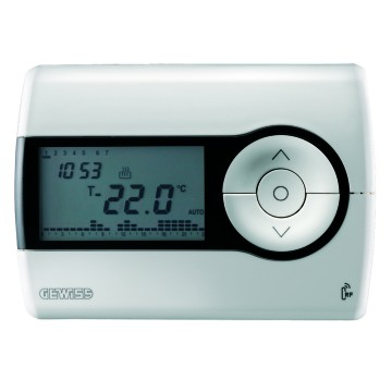 RF timed thermostats - wall-mounting - battery-powered