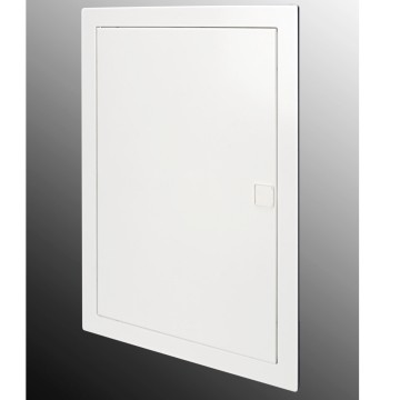 Metal frame for flush-mounting enclosures