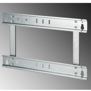 EXTRACTABLE FRAME FOR FLUSH-MOUNTING ENCLOSURE 48 MODULES