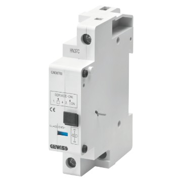 Under voltage release for motor protection switches